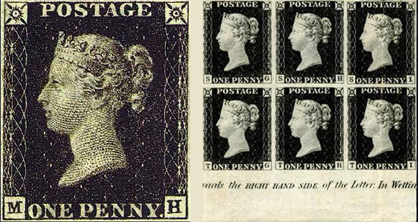 francobolli di valore penny black