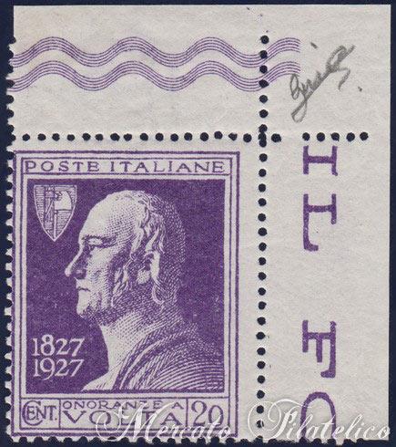 francobolli-rari-italiani-alessandrovolta-violetto