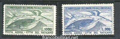 Francobolli rari Vaticano 75° anniversario dell'UPU 1949